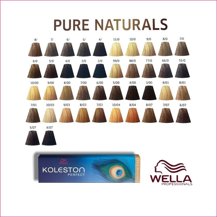 Wella Koleston Perfect Me In 2020 Wella Koleston Wella Wella Hair Color