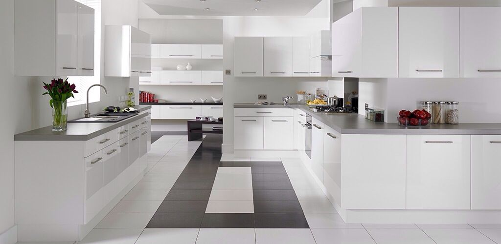 Wren kitchen white gloss   Kitchen Ideas   Pinterest