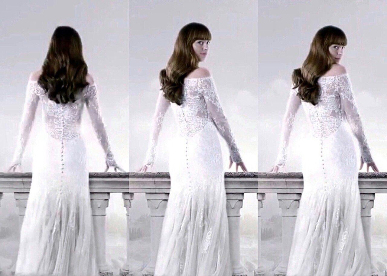 Vestido De Noiva Fifty Shades Fifty Shades Series Shades Of Grey [ 914 x 1280 Pixel ]