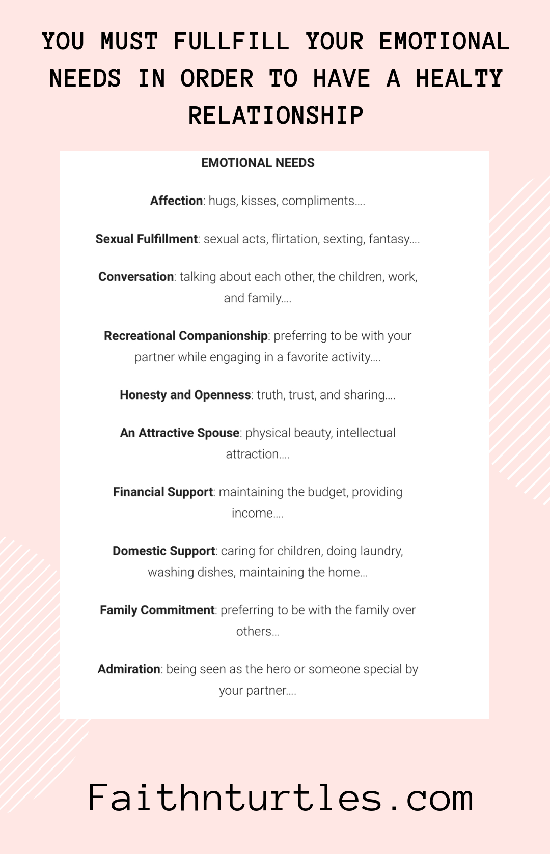 What Are Your Emotional Needs Emotionalneeds