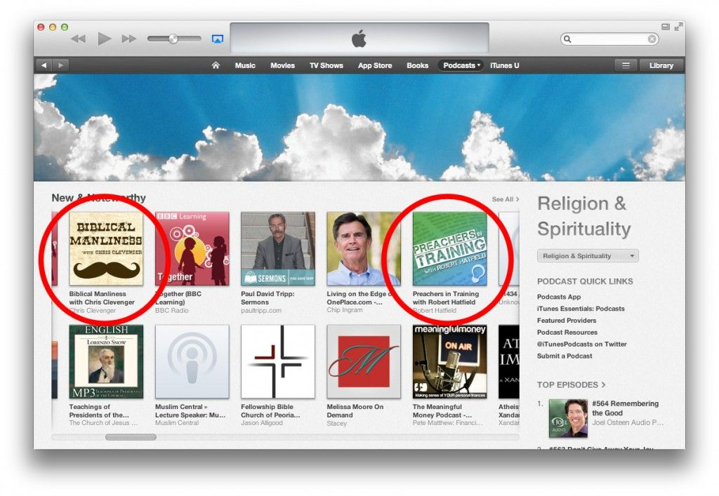 TLN Podcasts Rank High on iTunes Store Podcasts, Itunes
