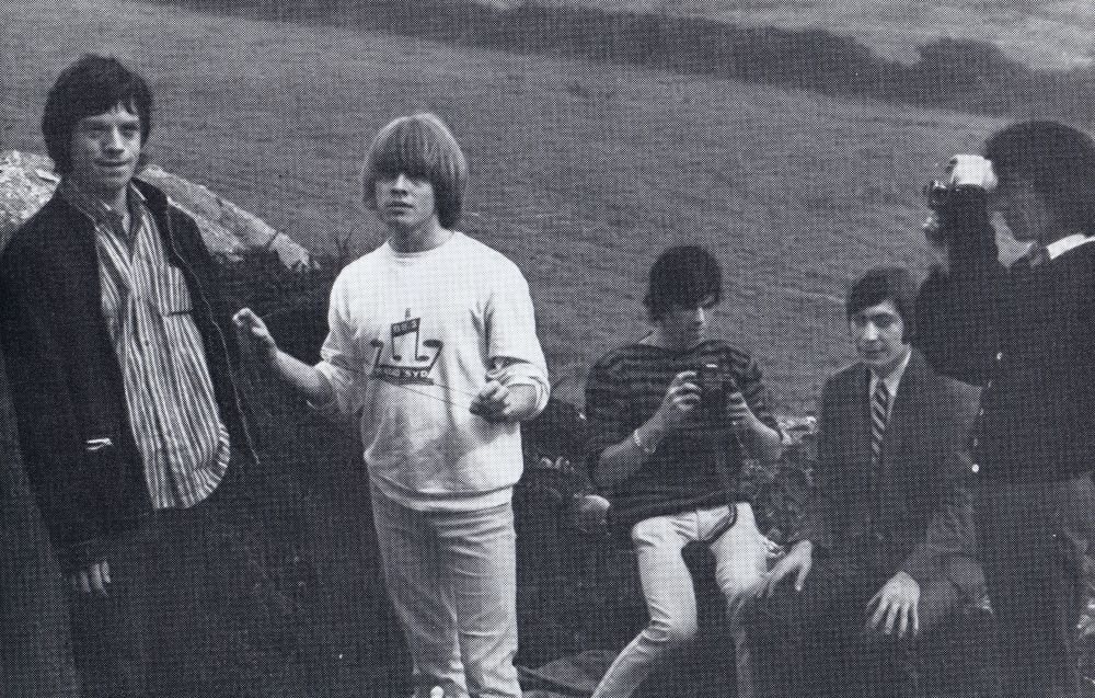 Brian Jones and the Stones. I see more cameras are lurking!