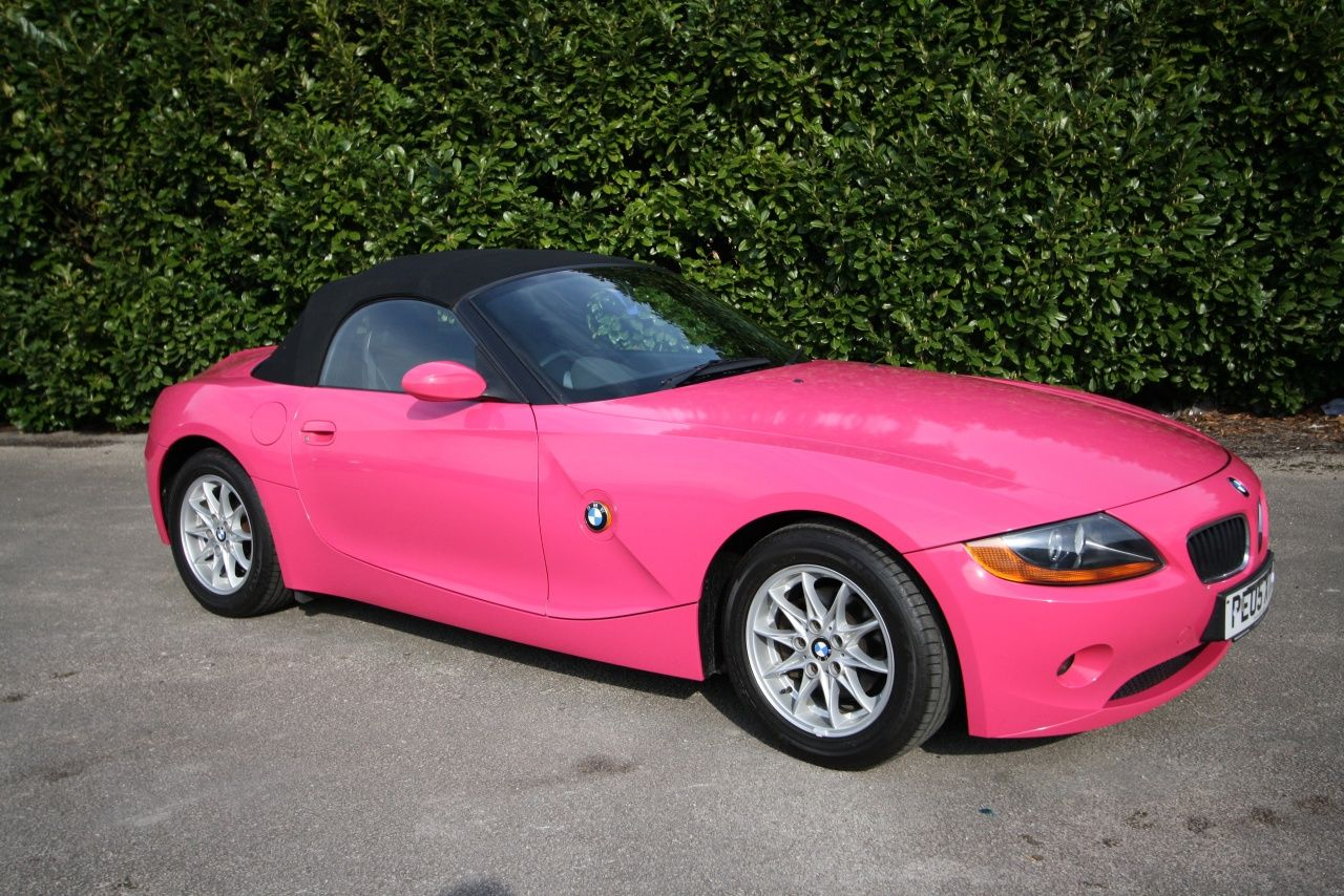 Pin by Chelyn Lee on Awesome Pink bmw, Pink wheels, Bmw z4