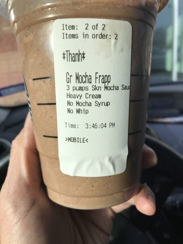 Low Carb Starbucks Drinks: How to Order Keto at Starbucks [2019]