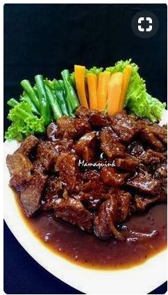Bumbu Bistik Daging : bumbu, bistik, daging, Resep, Bistik, Daging, Mamaquink, Resep,, Makanan,, Masakan