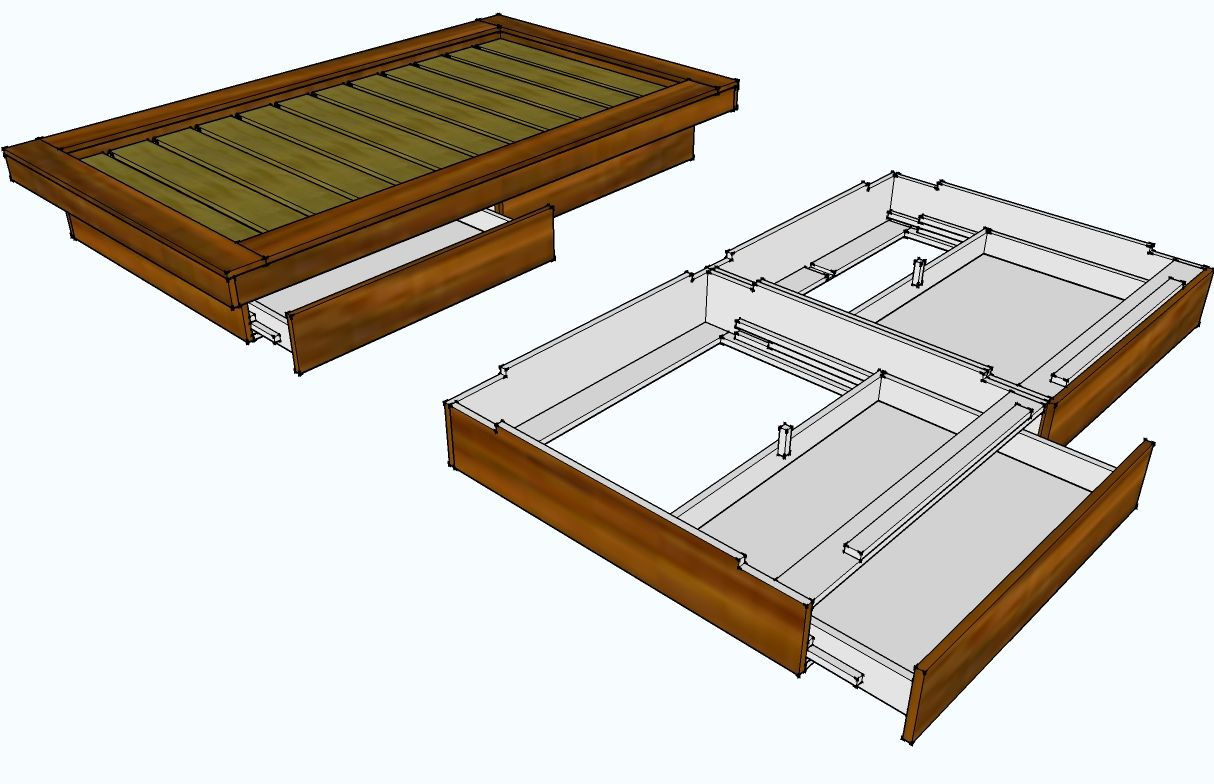 How to build a platform bed fraome from Home Depot. Platform Bed ...