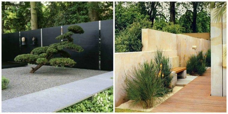 Clôtures de jardin en 59 idées captivantes | Garden ideas, Fences ...