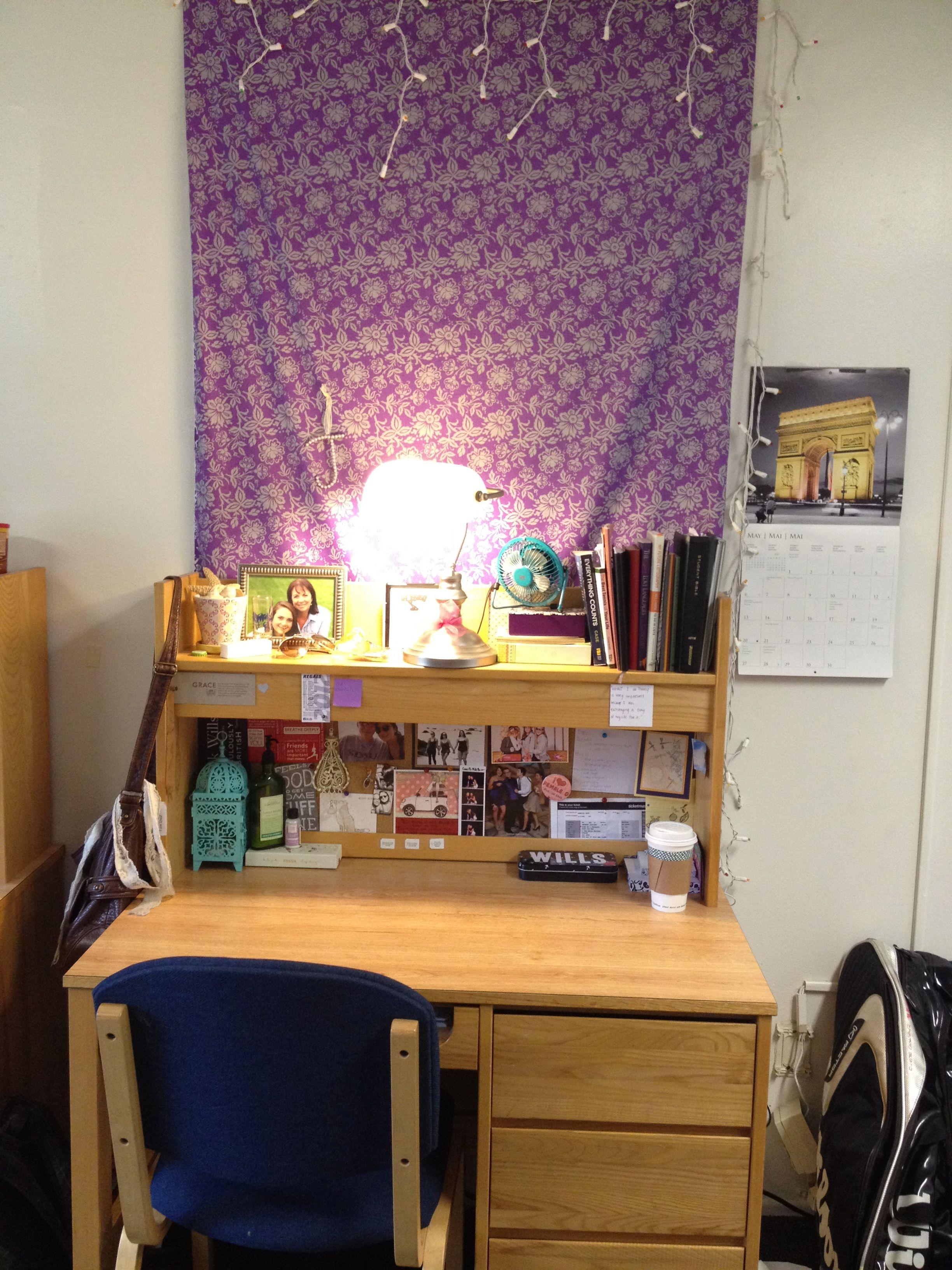 College Dorm desk Lights Fabric lantern  Organization