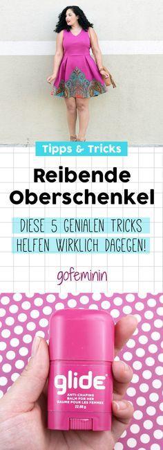 Geniale SOS-Tipps: DAS hilft wirklich, wenn die Oberschenkel aneinander reiben! #skintips