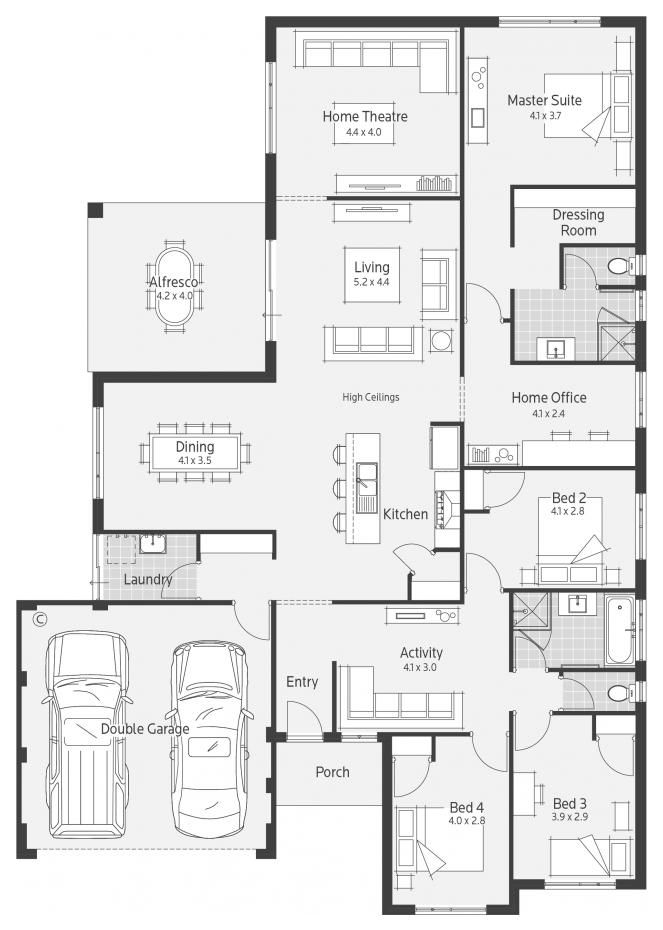Home Designs | Dale Alcock Homes | House Plans | Pinterest | Perth ...