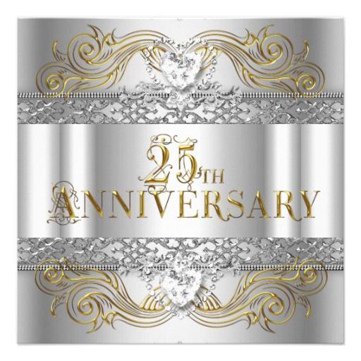 25 Year Wedding Anniversary Party Ideas: 25 Wedding Anniversary Party Ideas