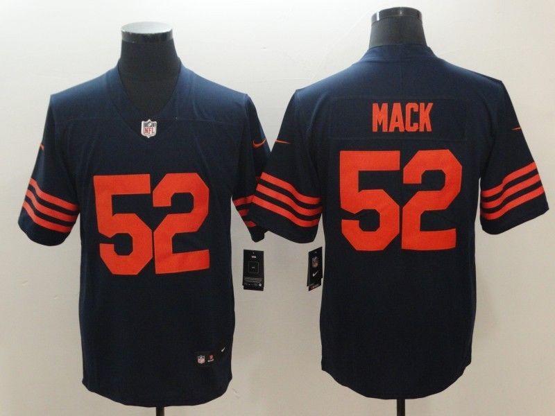 best service e94e7 17c4d Chicago Bears Khalil Mack navy orange jersey 2XL sz #fashion ...