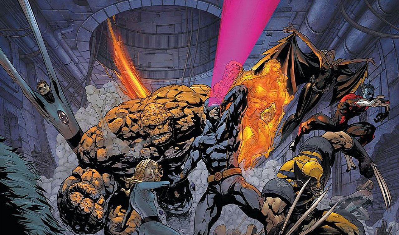 Rumor Patrol X Men Vs Fantastic Four Movie Story Revealed Debunked Quarteto Fantastico Quarteto Crossover