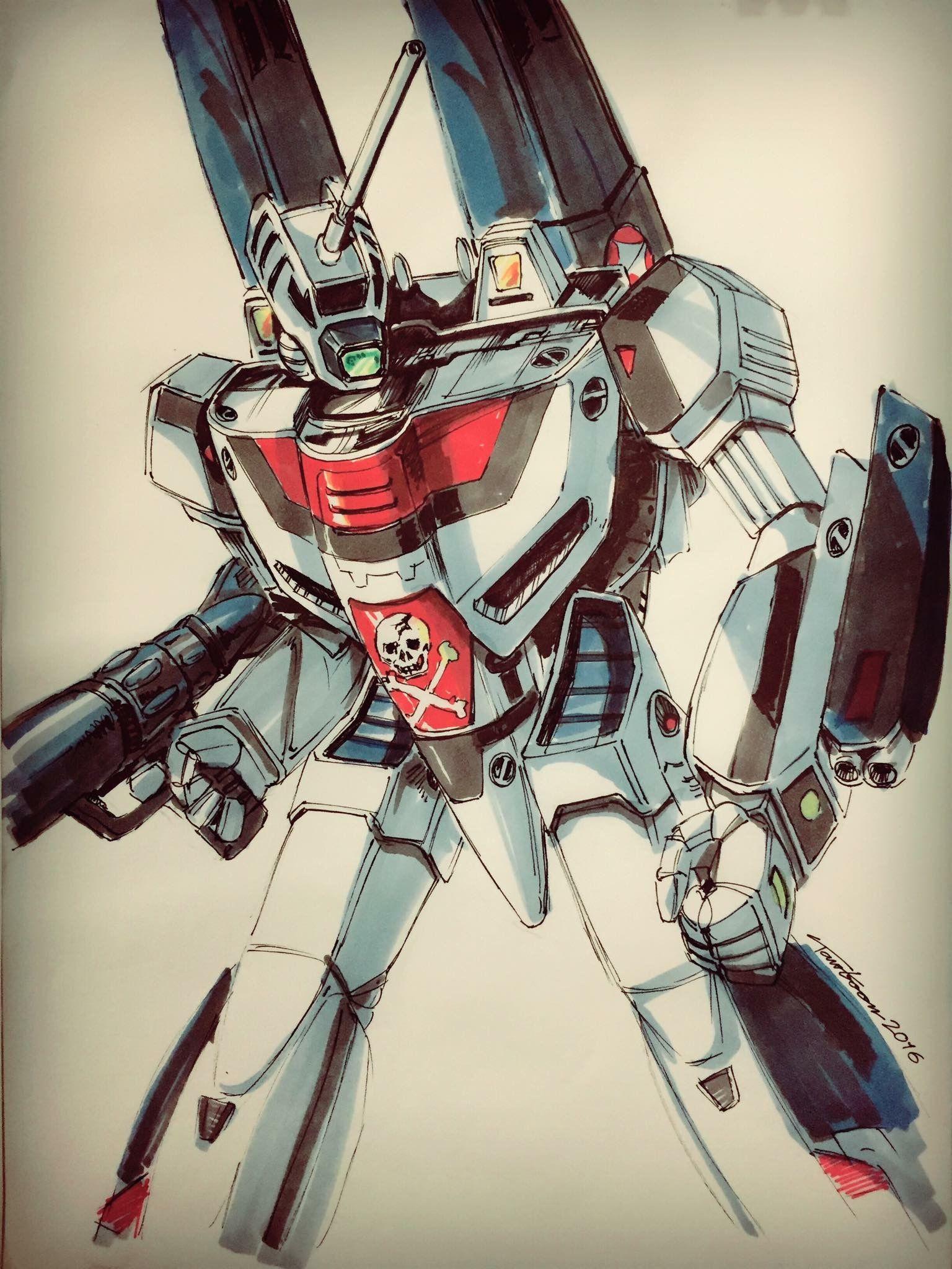 Idea by Eric Medina on Mecha Macross anime, Robotech