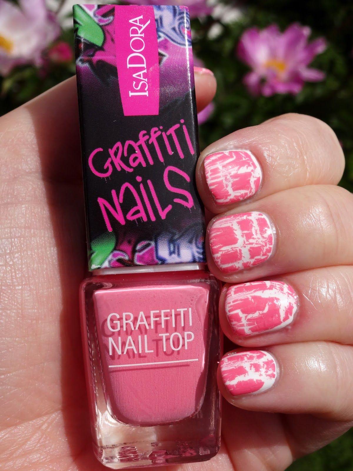 isadora graffiti nails