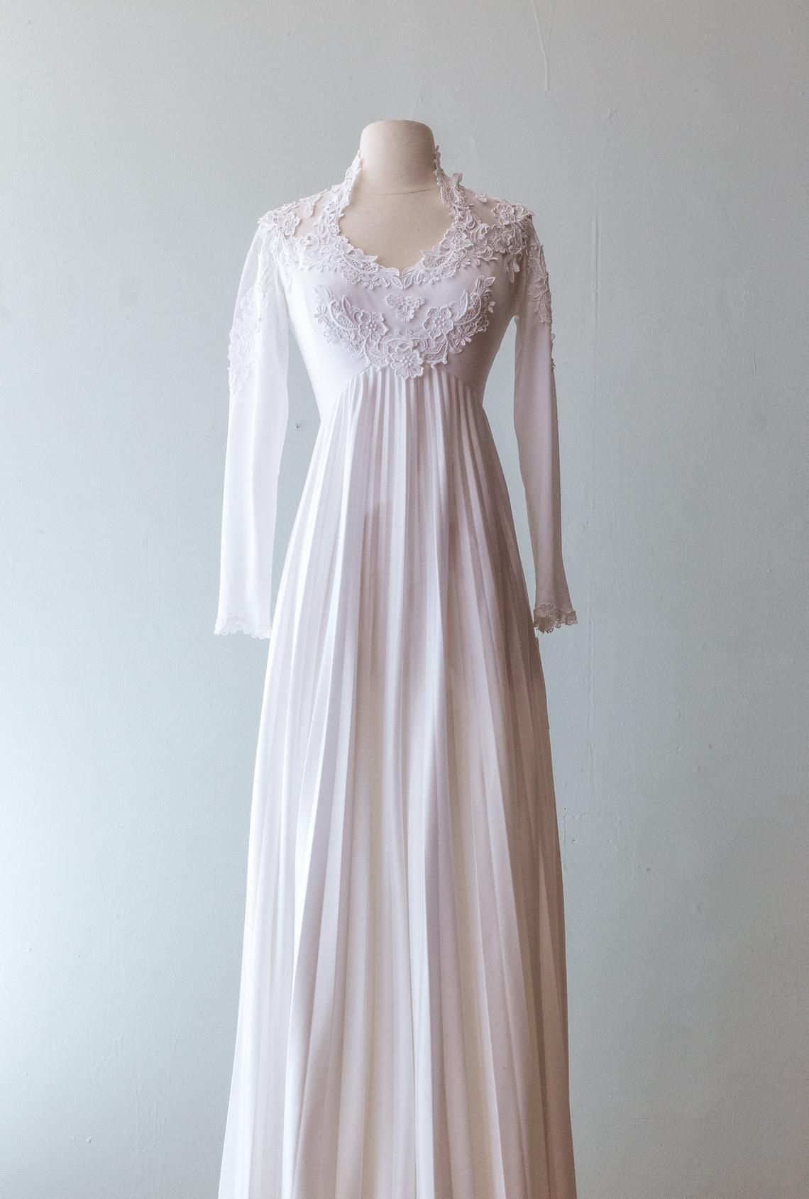 image 0 weddingdresses1970s 1970s wedding dress