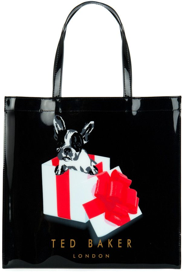 0967911b7 Ted Baker BOXCON Graphic shopper bag on shopstyle.co.uk