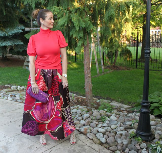 Ava Grace's Closet: What I Wore : Colourful