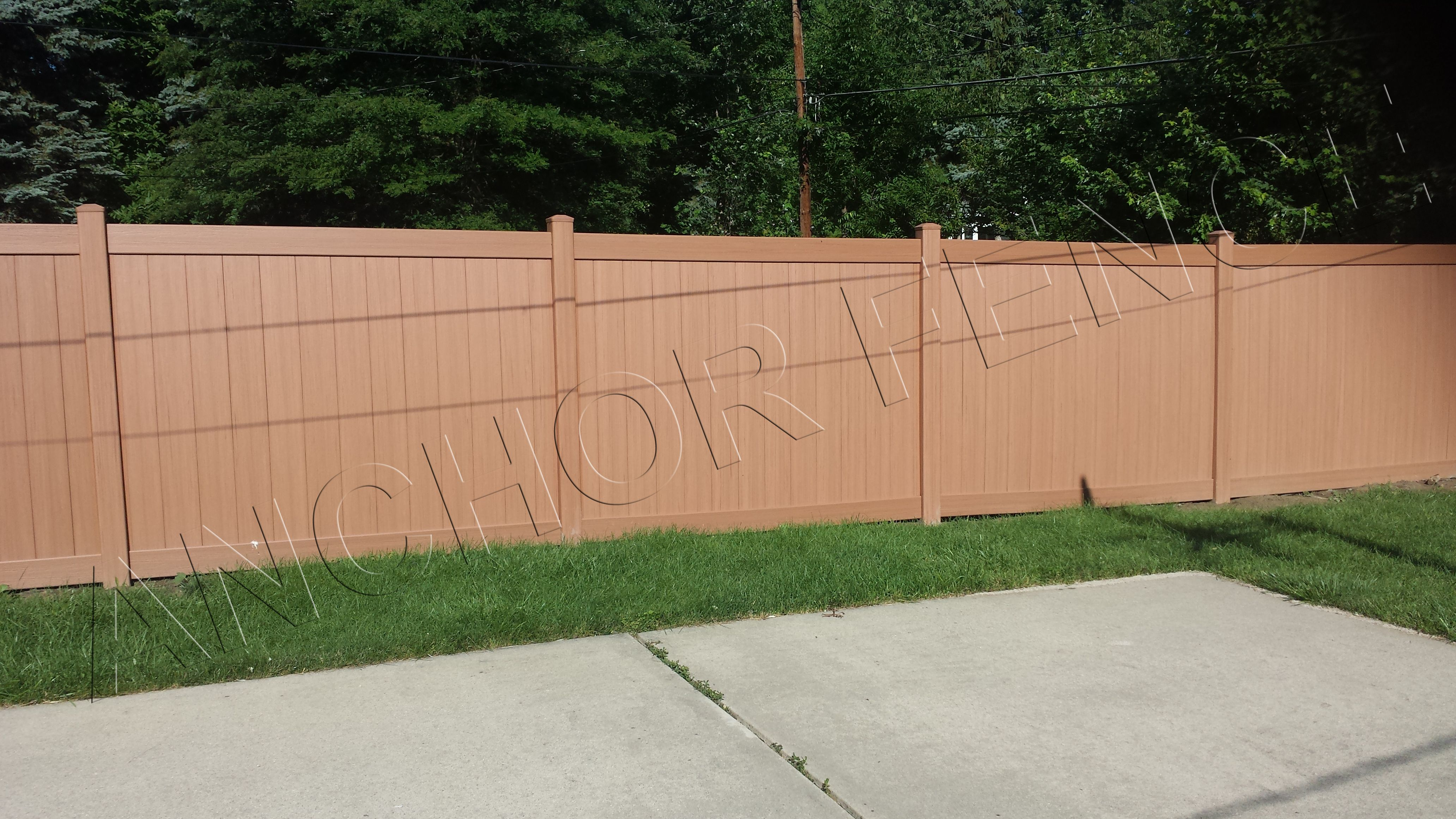 Bufftech Certagrain Sierra Blend Color Vinyl Fence That Looks And Feels Like Wood Fence Without The Maintenance Rotting And M Vinyl Fence Wood Fence Fence