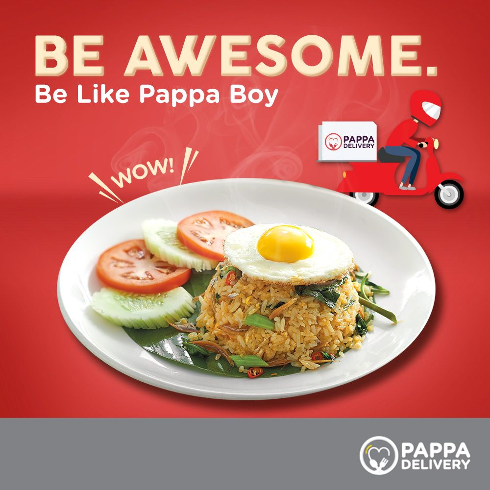 Even Though Pappa Boy Is Busy At Work He Loves Keeping His Family Happy Be Like Pappa Boy Treat Your Family An Awes Healthy Food Delivery Halal Recipes Food
