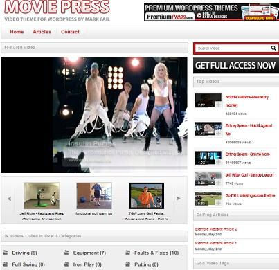 Wordpress video blog theme that is the best solution to build - wordpress resume template