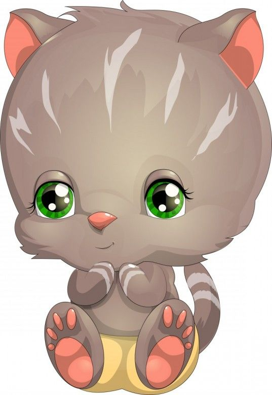 Cute Animals Cartoon Pictures Free Download Amazing Photos Kitten Cartoon Cartoon Animals Animal Clipart Free