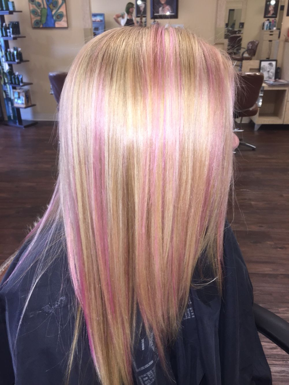 Pink Blonde Hair With Images Pink Blonde Hair Blonde Hair