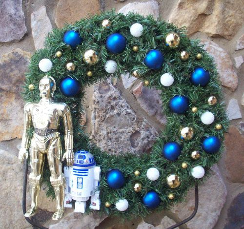 Star Wars Christmas Tree Lights: Pin On Wreaths I Can Make Better