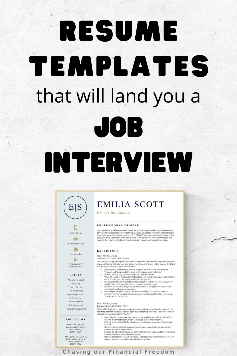 The Best Resume Examples That Will Get You Hired in 2020