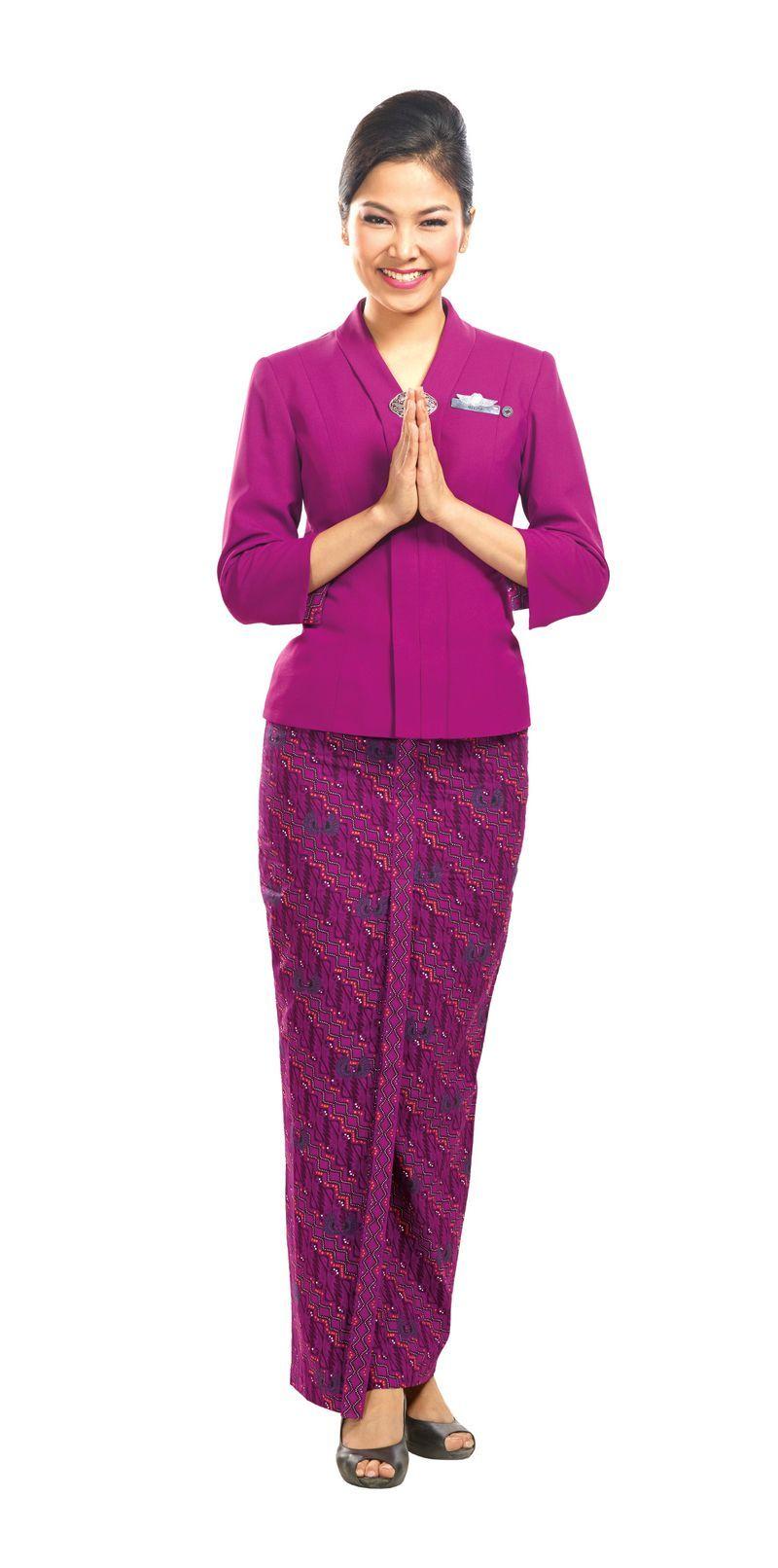 Model Baju Pramugari : model, pramugari, Seragam, Kerja, Pramugari, Garuda, Berdiri, SurewiWardrobe, Model, Pakaian, Wanita,, Pakaian,, Wanita