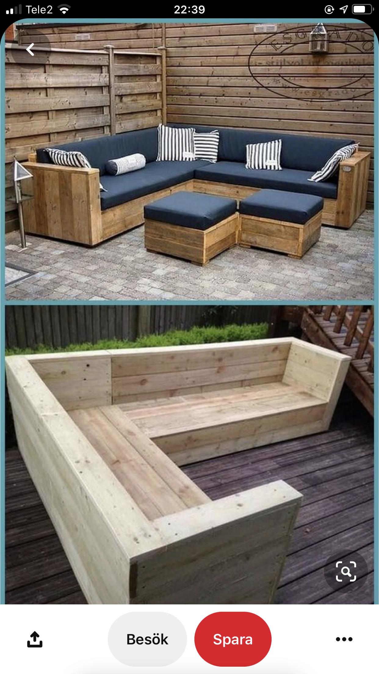 Pin By Melih Ismail On Inredning Garden Furniture Design Wooden Patio Furniture Pallet Furniture Outdoor [ 2208 x 1242 Pixel ]