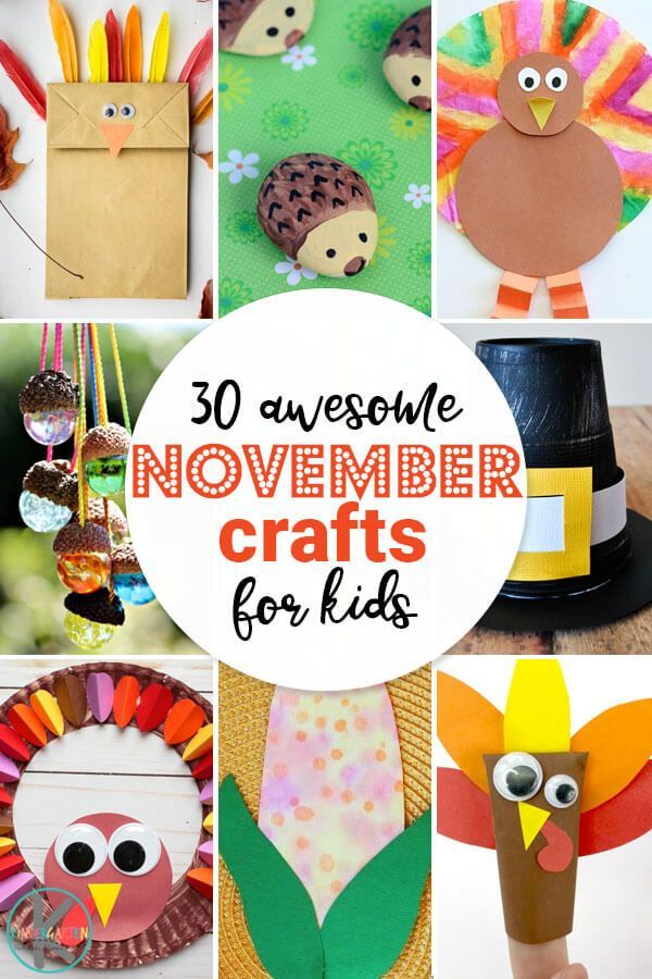 30++ November projects for toddlers ideas