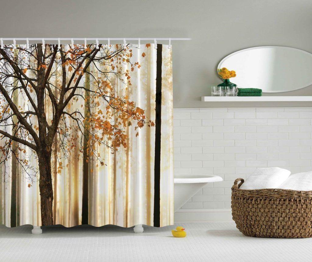 Fall Leaf Shower Curtain Hooks