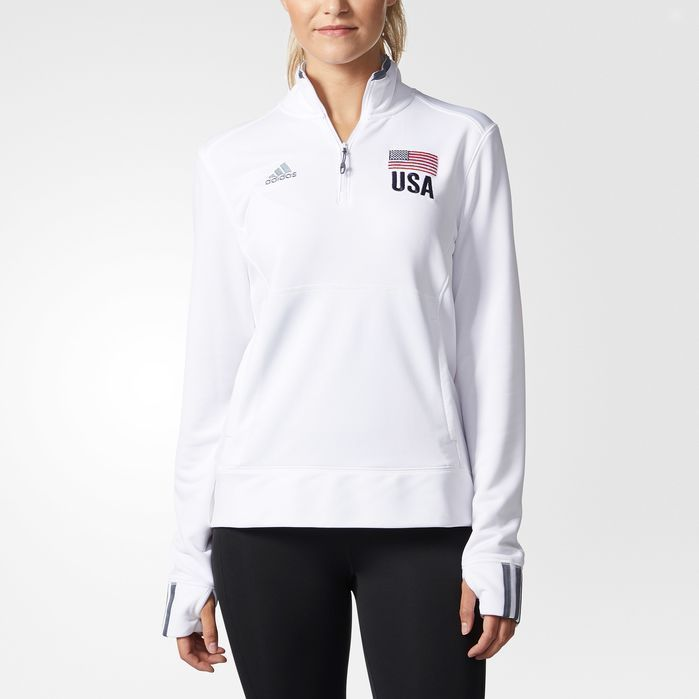 adidas USA Volleyball Jacket - Womens Volleyball Jackets  fda6311429