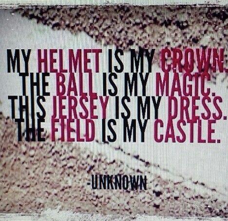 I love softball!