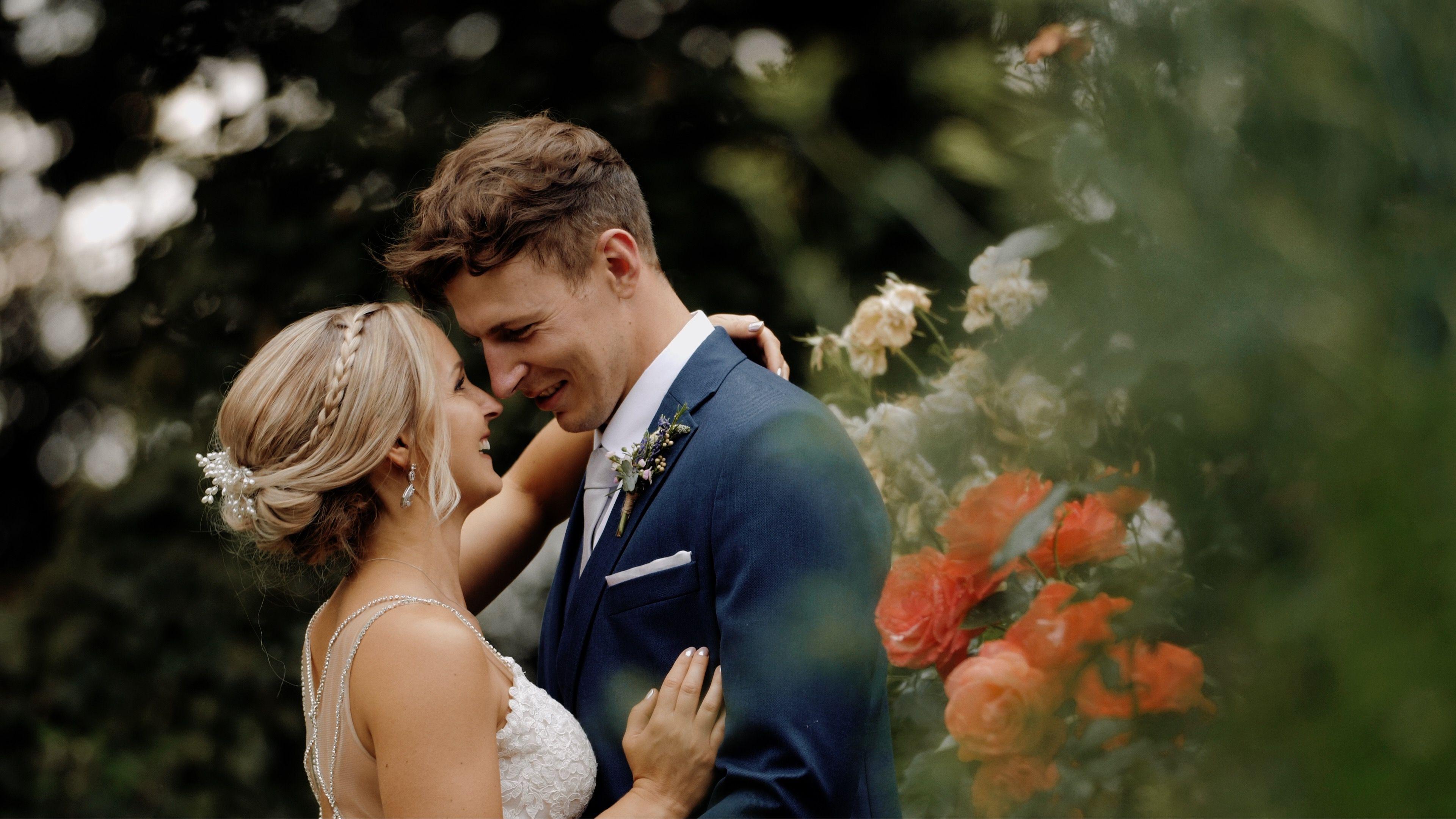 A beautiful stylish wedding held at Park Farm in