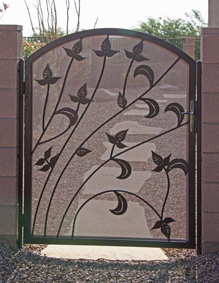 Beautiful Security Garden Gate