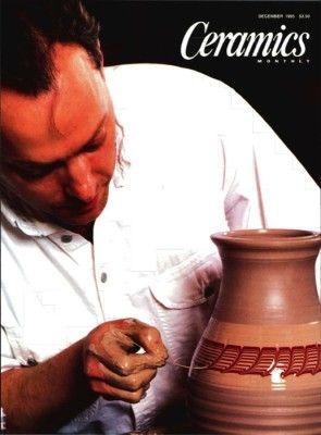 Ceramics Monthly December 1995 Ceramics Monthly Ceramics Monthly Ceramics Ceramic Art