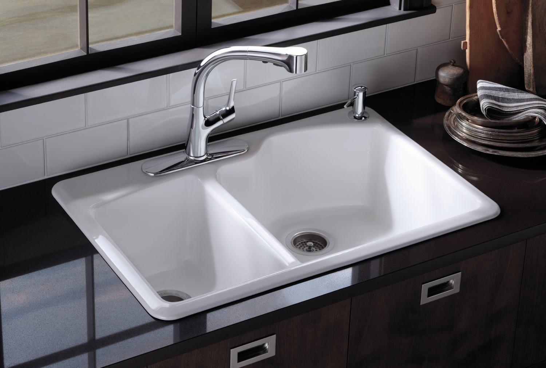 white kitchen sink - Google Search | decorating ideas | Pinterest ...