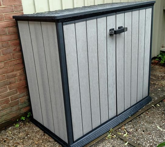Keter Patio Store 46 Ft X 26 Ft X 311 Ft Resin Horizontal