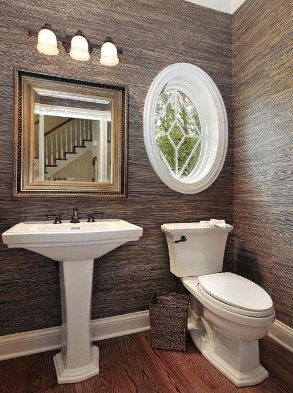 stunning small half bathroom designs ideas 30  small half
