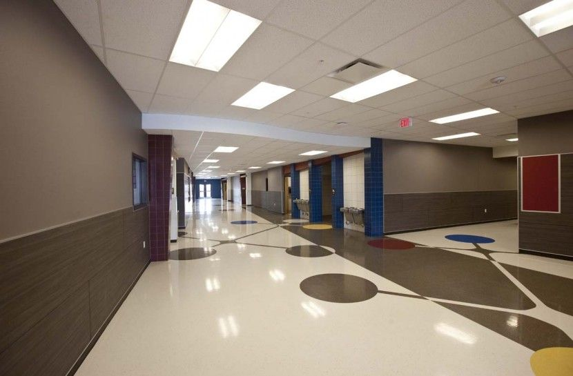 York International School Mapleton Corridor Cool Schools