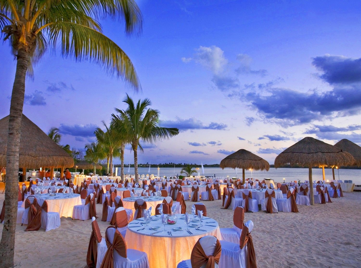 The westin resort spa cancun cancun mexico beach for Weddings in the carribean