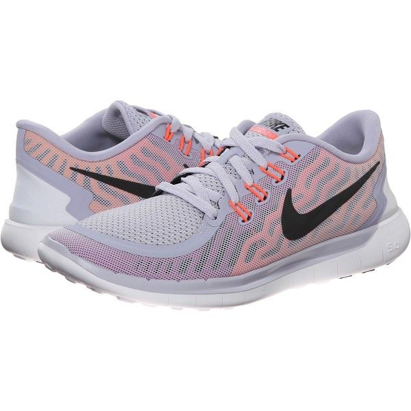 sale retailer 769f2 fc696 Nike Free 5.0 Women s Running Shoes, Gray ( 70) ❤ liked on Polyvore  featuring shoes, athletic shoes, nike, grey, gray shoes, waffle shoes,  pointed shoes ...