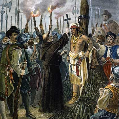 Image result for spanish conquest of the aztecs