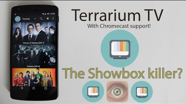 Terrarium Tv App 2017 Best Free 1080p Hd Movies Tv Shows Android Apk Download Terrarium Is An Android App Which Allows Yo Tv App Movie App Tv Series To Watch
