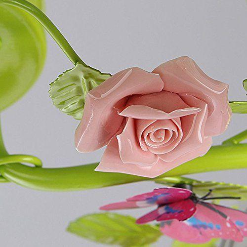 Pastoral Blumen Schlafzimmer Deckenleuchten Romantische Prinzessin ...