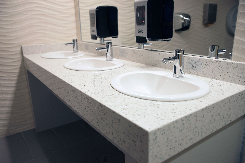 Lowes Bathroom Countertops | Precast Terrazzo Countertops Precast Terrazzo Countertops