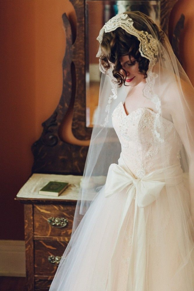 How To Make A Juliet Cap Wedding Veil