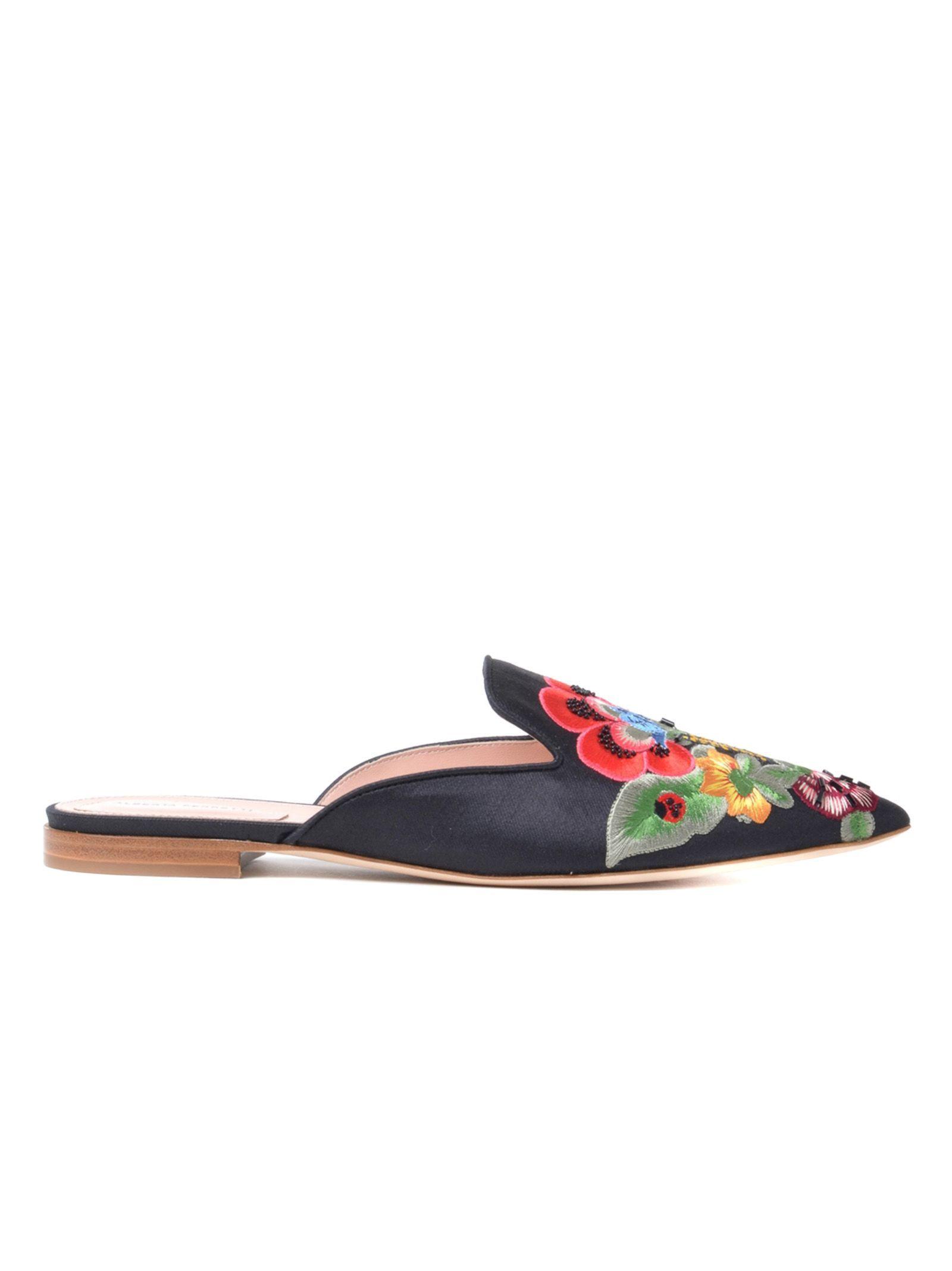Chaussures En Tissu Alberta De Ferretti dHhKaD